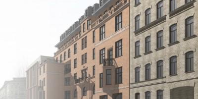 Большая Пушкарская улица, 7, проект воссоздания дома Басевича