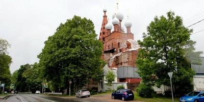 Церковь Серафима Саровского в Петергофе, восстановление
