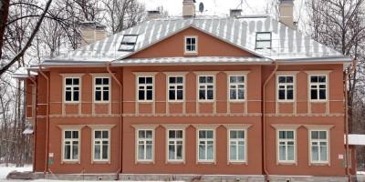 Дача Ростовцевой на Павловском шоссе, 6, в Пушкине после воссоздания