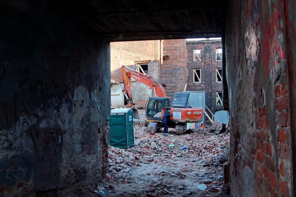 Гороховая улица, дом 47, литера В, демонтаж, снос