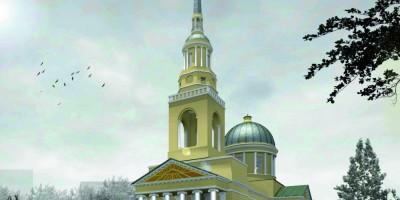 Кронштадт, проект воссоздания Андреевского собора