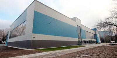 Дворец спорта Алмаз-Антей, проспект Обуховской Обороны, 130, новый объем