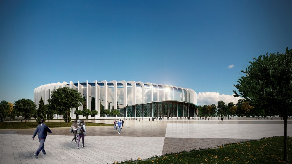 Проект ледовой арены СКА в Петербурге