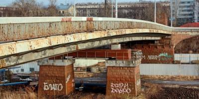 Ташкентский путепровод, опоры
