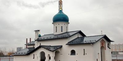 Церковь Николая Чудотворца на Арцеуловской аллее