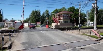 Переезд на Приморской улице