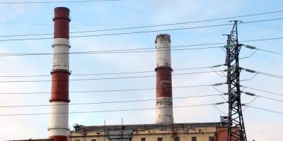 Первомайская ТЭЦ, дымовые трубы