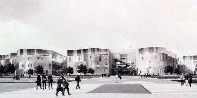Проект научно-образовательного комплекса Медицинского центра имени Алмазова на Коломяжском проспекте, 25