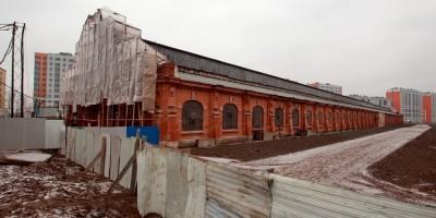 Сарай для императорских поездов Варшавского вокзала на Малой Митрофаньевской улице, 5, корпус 2
