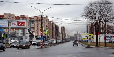Дунайский проспект с Московского шоссе