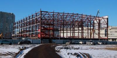 Ленинский проспект, 101, литера М, строительство волейбольного центра