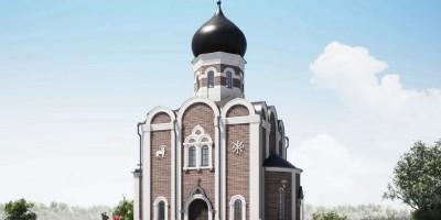Металлострой, проект церкви Воскресения Христова