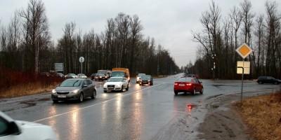 Перекресток Южной улицы, Лагерного и Петрозаводского шоссе