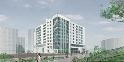 Проект бизнес-центра на Рощинской улице, 8, Союз 55