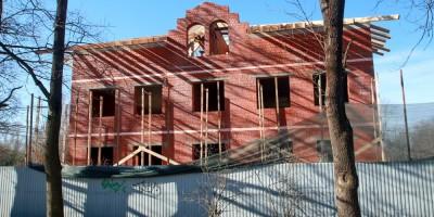 Строительство на Михайловской улице, 5а, в Ломоносове