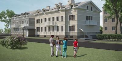 Павловск, Песчаный переулок, 9, проект жилого дома