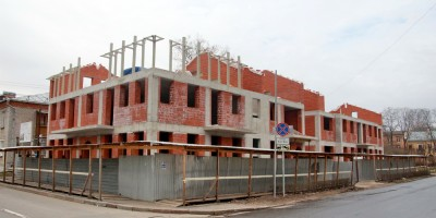 Павловск, Песчаный переулок, 9, строительство жилого дома