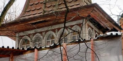 Пушкин, Московское шоссе, 27, дача Синевой, ремонт, башня