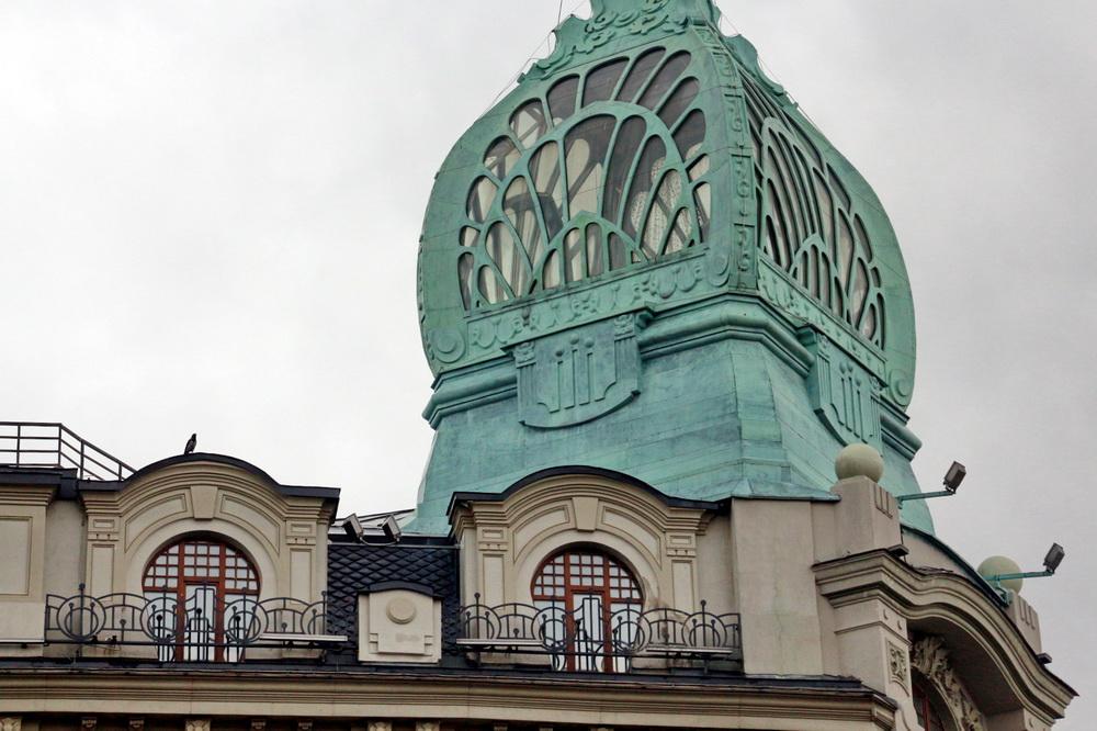 Торговый дом Эсдерса и Схефальса на Мойке, башенка