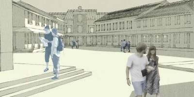 Заповедная улица, дацан, проект, двор