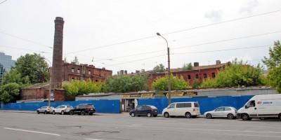 Бани Егоровых на Малом Сампсониевском проспекте, 5, вид с Гренадерской улицы