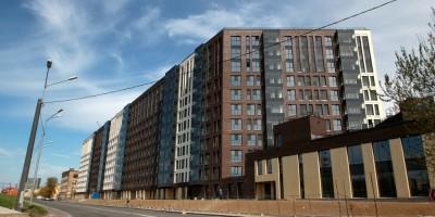 Лиговский проспект, дом 271, вид с Боровой улицы