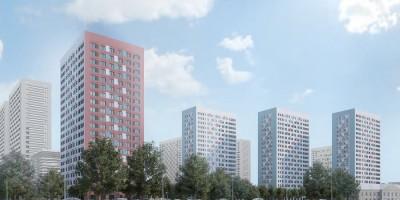 Октябрьская набережная, проект жилого комплекса