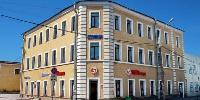 Ломоносов, дом Уткина на углу улицы Рубакина и Кронштадтской улицы