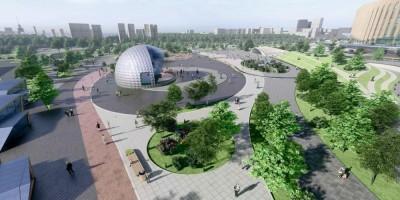 Проспект Юрия Гагарина, 8, проект парка, эстрада