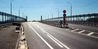 Гореловский путепровод, проезжая часть
