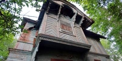 Петергоф, Приморская улица, 8, корпус 3, дача Грубе, эркер