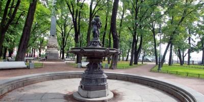 Румянцевский сад, фонтан