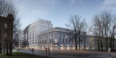 Угол 20-й линии и Большого проспекта Васильевского острова, проект жилого дома