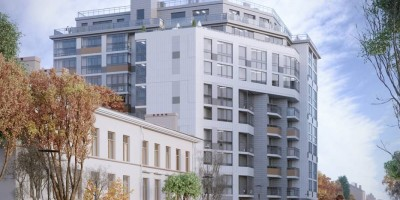 Улица Одоевского, 17, проект апарт-отеля