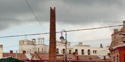 Демонтаж трубы на Карповке