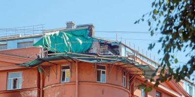 Дом Чубакова на набережной реки Карповки, 30, без башни