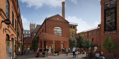 Фабрика Скороход, проект реконструкции, двор
