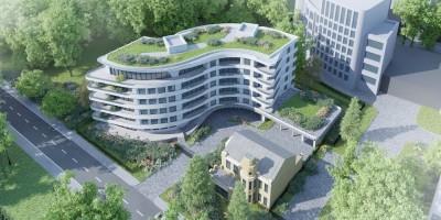Набережная Мартынова, 60, проект жилого дома, вид сверху