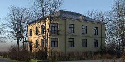 Ольгино, проспект Ленина, 18, проект воссоздания