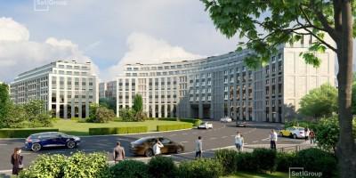Петровская площадь, жилой комплекс, проект