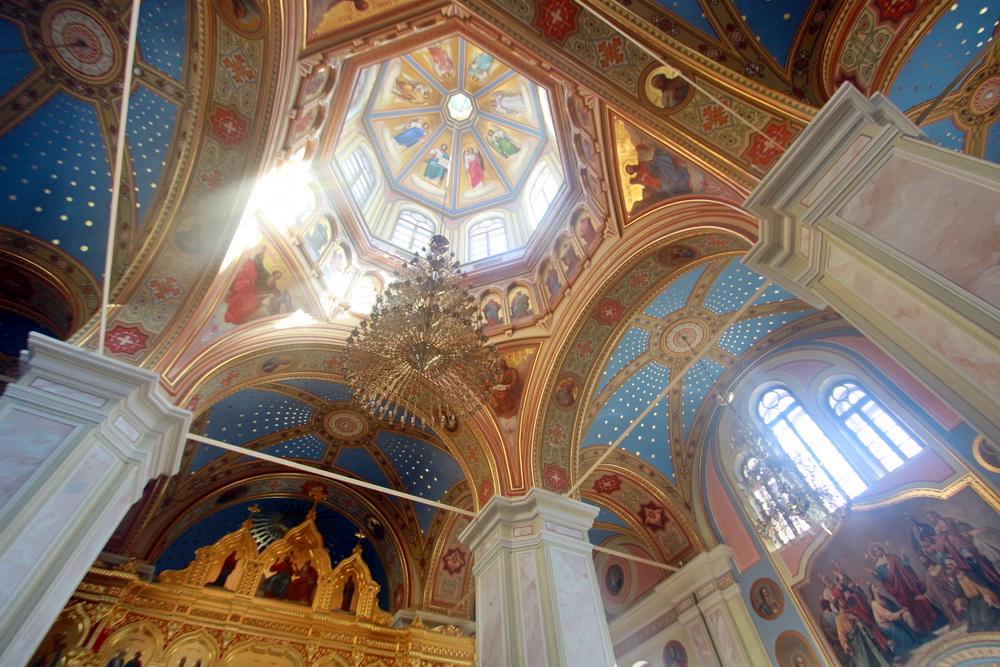 Свято-Троицкая церковь киновии, свод