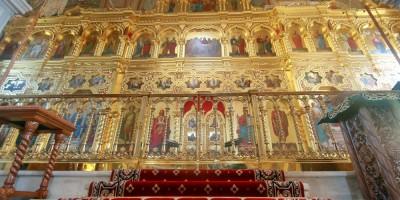 Свято-Троицкая церковь киновии, иконостас