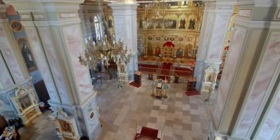 Свято-Троицкая церковь киновии, интерьер