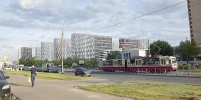 Улица Морской Пехоты, проект жилого комплекса, вид с улицы Маршала Казакова