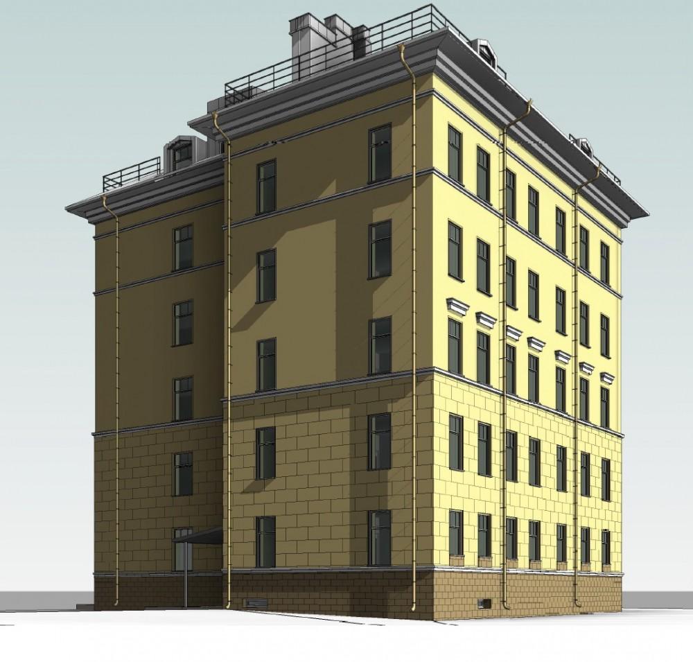 Урюпин переулок, 2, проект жилого дома
