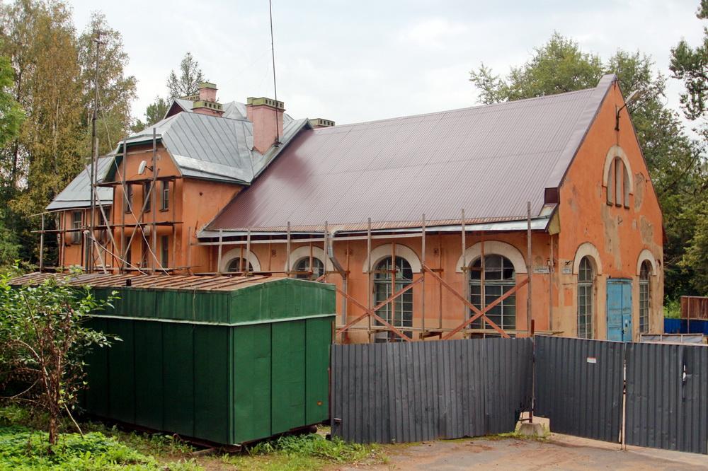 Павловск, Надгорная улица, 16, Павловская электрическая станция