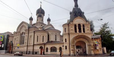 Подворье Староладожского женского монастыря на углу Нарвского и Старо-Петергофского проспектов