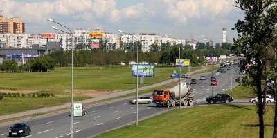 Пулковское шоссе, Красноборская сторона