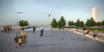 Сквер Александра Володина, проект