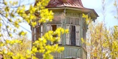 Дача Кана на Малой Горской улице, 32, в Сестрорецке, башенка